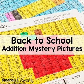 Back to School Math: Addition Within 20