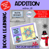 Addition Within 20 Boom Learning℠ | Snowflake