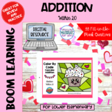 Addition Within 20 Boom Learning℠ | Valentines