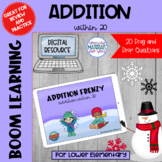 Addition Within 20 Boom Learning℠ | WINTER