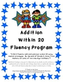 2nd Grade Addition Within 20 Fluency Program - Master the