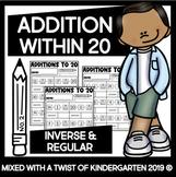 Addition Within 20 | Kindergarten