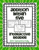 Addition Within 5 Interactive Reader