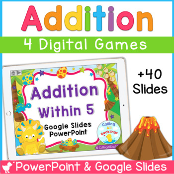 Addition Within 5 Powerpoint and Google Slides