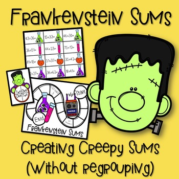 Addition Without Regrouping Frankenstein Sums