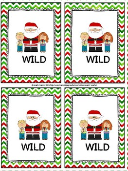 Addition Without Regrouping Task Cards & Game (CHRISTMAS)