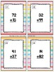 Addition Without Regrouping Task Cards & Game (Summer) 2.NBT.5