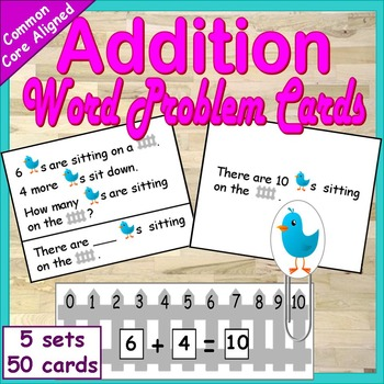 Word Problems within 10 | Word Problems Addition | First Grade Word Problems
