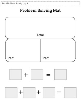 Addition Word Problem Intervention