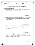 Addition Word Problem Practice