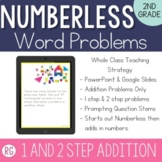 Addition Word Problem Strategy-Solve Numberless Story Problems