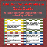 Addition Word-Problem Task Cards