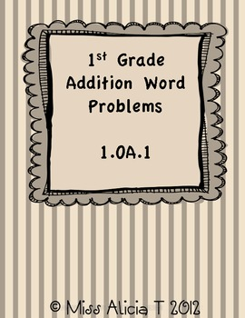 Addition Word Problems 1.OA.1