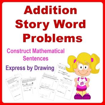 Addition Word Problems - 1st Grade, 2nd Grade