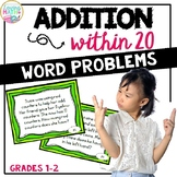 Addition Within 20 Word Problems