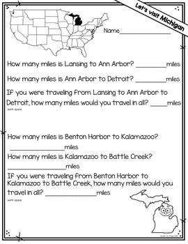 Word Problems 2nd Grade