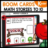 Addition Word Problems | BOOM Cards |Digital |Distance Lea
