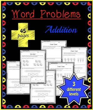 Addition Word Problems - Common Core