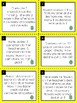 Addition Word Problems:  Easter Math Task Cards