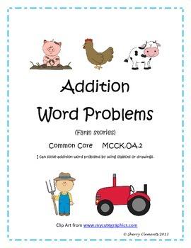 Farm Word Problems
