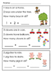 Addition Word Problems Within Five For Kindergarten