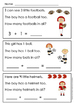 Addition Word Problems Within Five {Kindergarten Reading Comprehension & Math!}