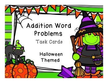 Addition Word Problems Freebie