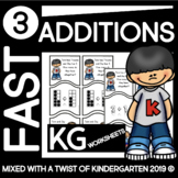 Kindergarten Addition Puzzles