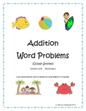 Summer Ocean Stories Addition Word Problems