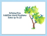 Addition Word Problems PowerPoint (Interactive)