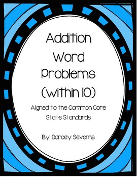 Addition Word Problems - Within 10