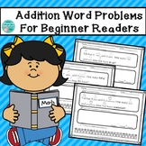 Addition Word Problems Within 20 For Beginning Readers