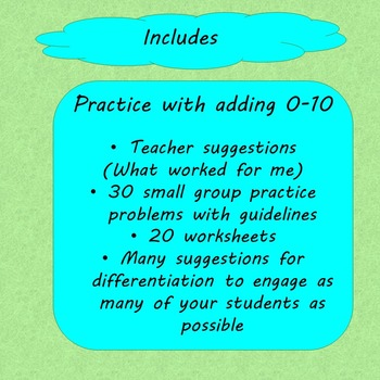 Addition Word Problems for Special Education by Special Needs for ...