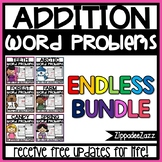 Addition Word Problems to 10 ENDLESS BUNDLE