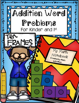 Addition Word Problems with Sums up to 10