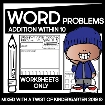 Addition Word Problems within 10