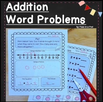 Addition Word Problems within 10 ( Addition Story Problems )