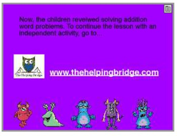Addition Words Problems meet Monster drawings!