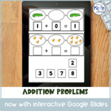 Interactive Differentiated Addition Work Books & Activities with Google Slides™