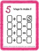 Addition Work Station: Ways to Make 5, 6, 7, 8, 9 and 10