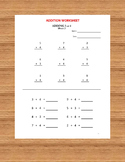 Addition Workbook (56 Worksheets with answers)