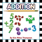 Addition Workbook featuring real photographs