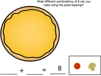 Addition Workmats (Composing and Decomposing Numbers)