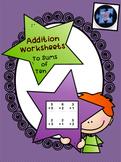 Addition Worksheets