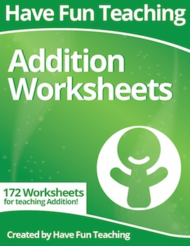 Addition Worksheets (172 Addition Worksheets)