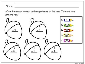 Addition Worksheets | Math