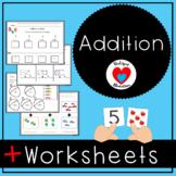 Addition Worksheets | Math