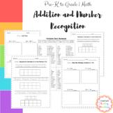 Addition Worksheets (Preschool, Kindergarten, Grade 1)