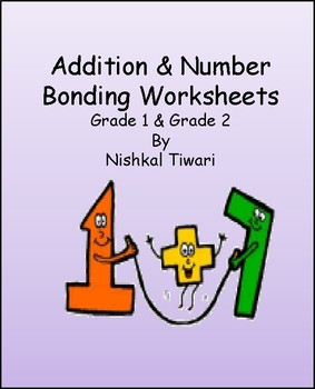 Addition Worksheets for Grade 1 and Grade 2