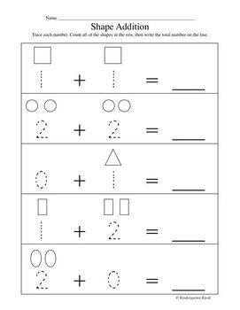 addition worksheets for kindergarten by kindergarten kiosk  tpt addition worksheets for kindergarten